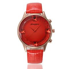 Men's Sport Watch Military Watch Fashion Watch Wrist watch Quartz Genuine Leather Band Vintage Casual Multi-Colored