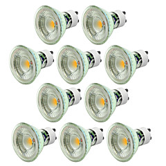 abordables Ampoules LED-10pcs dimmable 5w 550-650lm gu10 led projecteur torchis chaud / froid blanc ac220-240v