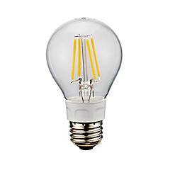 お買い得  LED 電球-GMY® 1個 4W 400/500lm E26 フィラメントタイプLED電球 A60(A19) 4 LEDビーズ COB 温白色 クールホワイト 110-130V
