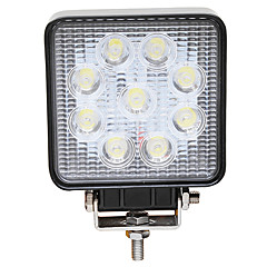 Недорогие Противотуманные фары-JIAWEN Автомобиль Лампы 27W Высокомощный LED Светодиодная лампа Противотуманные фары / Налобный фонарь / Рабочее освещение Назначение
