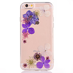 Для IMD Рельефный С узором Кейс для Задняя крышка Кейс для Цветы Мягкий TPU для AppleiPhone 7 Plus iPhone 7 iPhone 6s Plus/6 Plus iPhone