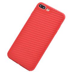 Varten Pinnoitus Ultraohut Etui Takakuori Etui Yksivärinen Pehmeä TPU varten AppleiPhone 7 Plus iPhone 7 iPhone 6s Plus/6 Plus iPhone