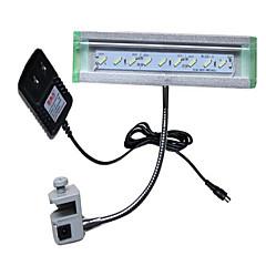 أحواض السمك إضاءةLED أبيض توفير الطاقة غير سام و بدون طعم مصباح LED 220V