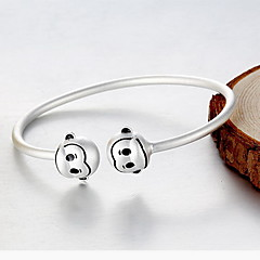 Браслет цельное кольцо Природа Стерлинговое серебро В форме животных Обезьяна Бижутерия Назначение