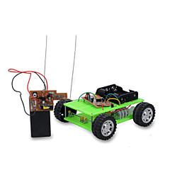 voordelige -Speelgoedauto's Speelgoed op zonne-energie Radiografisch Bestuurbaar Speeltjes Automatisch Afstandsbediening DHZ Metaal Jongens Stuks