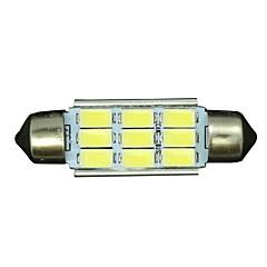 Недорогие Освещение салона авто-SO.K 10 шт. T11 Автомобиль Лампы 3 W SMD 5730 300 lm Светодиодная лампа Внутреннее освещение Назначение