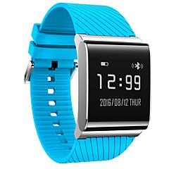 preiswerte Herrenuhren-Herrn Smartwatch Digital 30 m Wasserdicht Herzschlagmonitor Kalender Silikon Band digital Charme Mehrfarbig - Gelb Rot Blau / Fernbedienungskontrolle / Schrittzähler / Tachometer / Fitness Tracker