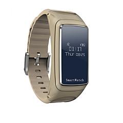 olcso Okos órák-cardmisha b7 beszél okos karszalag bluetooth headset android 4.4 ios sport futó fitness tracker okos karkötő
