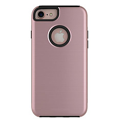 Для Защита от пыли Кейс для Задняя крышка Кейс для Один цвет Твердый PC для AppleiPhone 7 Plus iPhone 7 iPhone 6s Plus/6 Plus iPhone 6s/6
