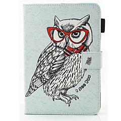 cheap Cases/Covers for iPad Air-Case For Apple iPad Air 2 iPad Air Card Holder with Stand Flip Magnetic Full Body Cases Owl Hard PU Leather for iPad Air iPad Air 2 Apple