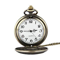 preiswerte Tolle Angebote auf Uhren-Herrn Taschenuhr Japanisch Quartz 30 m Armbanduhren für den Alltag Legierung Band Analog Charme Bronze - Bronze
