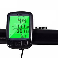 Ποδηλασία Ποδήλατο Βουνού Υπολογιστής ποδηλάτουΟδόμετρο backlight Χρόνος - Χρόνος που Πέρασε Av - Μέση ταχύτητα Odo - Οδόμετρο SPD -