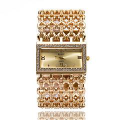 preiswerte Tolle Angebote auf Uhren-Damen Armband-Uhr Armbanduhr Quartz Cool Imitation Diamant Edelstahl Band Analog Glanz Freizeit Armreif Silber / Gold - Gold Silber Rotgold Ein Jahr Batterielebensdauer / SSUO 377