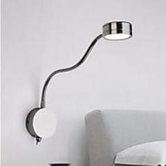 falikar Háttérfény 3W 110-120 V 220-240 V Beépített LED Modern/kortárs Króm