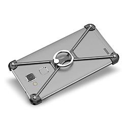 Voor Schokbestendig Ringhouder hoesje Bumper hoesje Effen kleur Hard Aluminium voor Huawei Huawei Mate 7