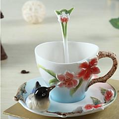 billige -drinkware Keramik Kaffekrus Varmeisolerede 1 pcs