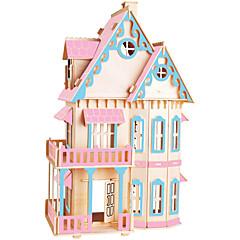 Puzzles Sets zum Selbermachen Bausteine 3D - Puzzle Bildungsspielsachen Holzpuzzle Bausteine Spielzeug zum SelbermachenBerühmte Gebäude