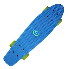 22,5 pouces Cruisers Skateboard Professionnel PP (Polypropylène) ABEC-7-Jaune Rouge Vert Bleu Rose
