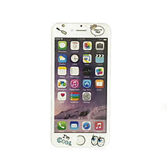 для Apple IPhone 7 4,7 дюйма закаленного стекла с мягким краем полный охват экрана шаблон передний экран протектор мультфильм