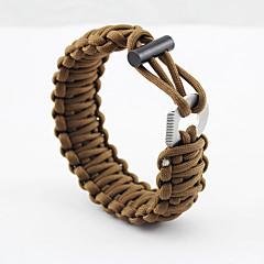 Survival Armband Wandelen Kamperen Reizen Voor buiten Multi Function Nylon stk