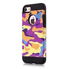 Для Защита от удара Кейс для Задняя крышка Кейс для Камуфляж Твердый PC для AppleiPhone 7 Plus iPhone 7 iPhone 6s Plus iPhone 6 Plus