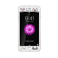 για Apple iPhone 6 / 6δ συν 5.5inch γυαλί διαφανές προστατευτικό μπροστά οθόνης με ανάγλυφο μοτίβο κινουμένων σχεδίων λάμπουν στο σκοτάδι