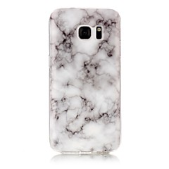 halpa Galaxy S3 kotelot / kuoret-Etui Käyttötarkoitus Samsung Galaxy S7 edge S7 IMD Kuvio Takakuori Marble Pehmeä TPU varten S7 edge S7 S6 edge S6 S5 S4 S3