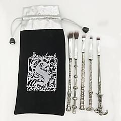 5 Zestawy Brush Pędzelek do cieni Pędzel nylonowy Pełne pokrycie Ochrona przed bakteriami Metal Oko Warga Inne