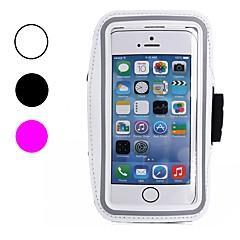 Недорогие Кейсы для iPhone-Кейс для Назначение Apple iPhone X / iPhone 8 / iPhone 8 Plus Защита от пыли / Защита от влаги / с окошком С ремешком на руку Однотонный Мягкий текстильный для iPhone X / iPhone 8 Pluss / iPhone 8