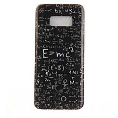voordelige Galaxy S6 Hoesjes / covers-hoesje Voor Samsung Galaxy S8 Plus S8 IMD Patroon Achterkantje Woord / tekst Zacht TPU voor S8 S8 Plus S7 edge S7 S6 edge S6