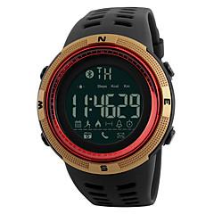 tanie Inteligentne zegarki-Inteligentny zegarek Wodoszczelny Spalone kalorie Rejestr ćwiczeń Śledzenie odległości Informacje Długi czas czuwania Sportowy