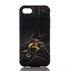 Недорогие Кейсы для iPhone 7 Plus-Кейс для Назначение Apple iPhone 7 Plus iPhone 7 Защита от удара Кейс на заднюю панель другое Твердый ПК для iPhone 7 Plus iPhone 7