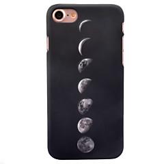 Недорогие Кейсы для iPhone-Кейс для Назначение Apple iPhone 8 iPhone 8 Plus Сияние в темноте С узором Кейс на заднюю панель Плитка Твердый ПК для iPhone 8 Pluss