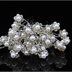 20db fúrás u villa villanyköve megy gyöngyvirág hajszál clasp menyasszony