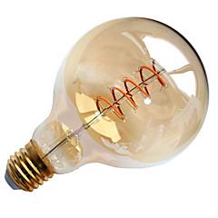 4W E26/E27 LED-hehkulamput G95 1 COB 400 lm Lämmin valkoinen Koristeltu AC 220-240 V 1 kpl