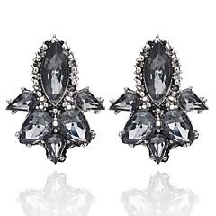 preiswerte Ohrringe-Damen Kristall Ohrstecker - Krystall Geometrisch, Einzigartiges Design Weiß / Schwarz / Grau Für Party Alltag Normal