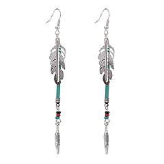 voordelige Druppeloorbellen-Dames Druppel oorbellen Sieraden Uniek ontwerp Bohémien Kristal Imitatieparel Legering Wings Sieraden Feest Speciale gelegenheden