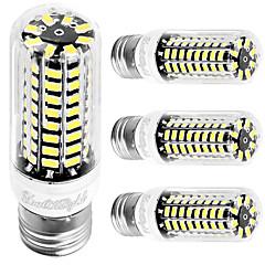 4W E26 E27 LED-maïslampen T 80 leds SMD 5733 Koel wit 350lm 6000K AC 110-130V