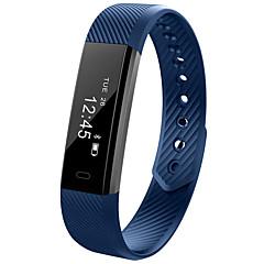 D115 Inteligentny zegarek Rejestrator aktywności fizycznej iOS AndroidWodoszczelny Spalone kalorie Krokomierze Rejestr ćwiczeń Sportowy