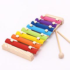 abordables Juguetes Musicales-Marimba Bloques de Construcción Juguete Educativo Instrumentos musicales de juguete Instrumentos Musicales Divertido Niños Unisex