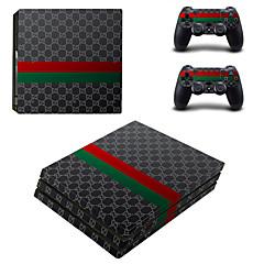 preiswerte Zubehör für Videospiele-B-SKIN Aufkleber Für PS4 . Aufkleber PVC 1 pcs Einheit