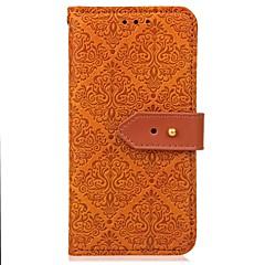Для Кошелек Бумажник для карт со стендом Рельефный Магнитный Кейс для Чехол Кейс для Один цвет Твердый Искусственная кожа для Huawei