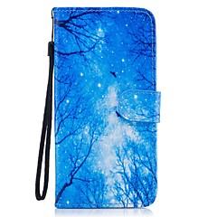 Χαμηλού Κόστους Galaxy S6 Θήκες / Καλύμματα-tok Για Samsung Galaxy S8 Plus S8 Θήκη καρτών Πορτοφόλι με βάση στήριξης Ανοιγόμενη Με σχέδια Πλήρης Θήκη Τοπίο Σκληρή PU δέρμα για S8