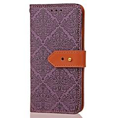 Для Кошелек Бумажник для карт со стендом С узором Магнитный Кейс для Чехол Кейс для Цветы Твердый Искусственная кожа для SamsungNote 5