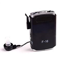 axon f-16 새로운 소형 보청기 보조 음성 증폭기 귀마개 조절 가능 음