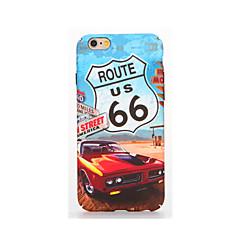 Για Λάμπει στο σκοτάδι Ανάγλυφη Με σχέδια tok Πίσω Κάλυμμα tok Λέξη / Φράση Μαλακή TPU για AppleiPhone 7 Plus iPhone 7 iPhone 6s Plus