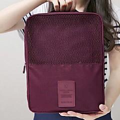 منظم أغراض السفر حقيبة سفر للأحذية المحمول تخزين السفر إلى ملابس أحذية نايلون / السفر