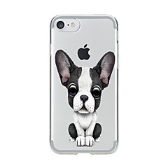 お買い得  iPhone 5S/SE ケース-ケース 用途 Apple iPhone 7 Plus iPhone 7 クリア パターン バックカバー 犬 ソフト TPU のために iPhone 7 Plus iPhone 7 iPhone 6s Plus iPhone 6s iPhone 6 Plus iPhone 6