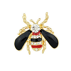 cheap Brooches-Women's Brooches - Ladies, Basic Brooch Jewelry Black / Red For Casual