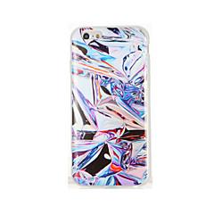 Недорогие Кейсы для iPhone 6-Кейс для Назначение Apple iPhone 7 Plus iPhone 7 IMD С узором Кейс на заднюю панель другое Мягкий ТПУ для iPhone 7 Plus iPhone 7 iPhone